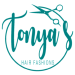 Tonya's Hair Fashions Mobile Logo